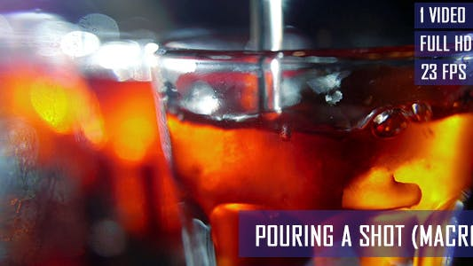 Thumbnail for Pouring Alcohol Liquid In To The Shot