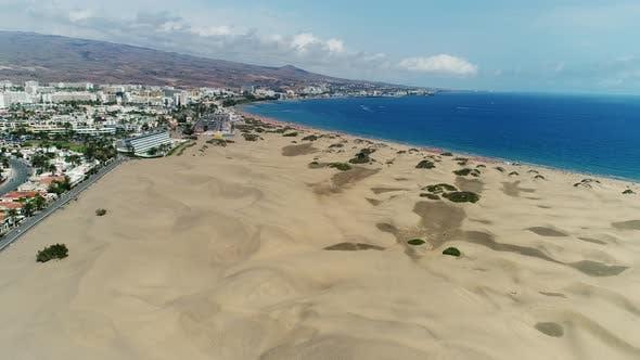 Beach Resort from above