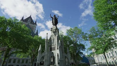 Monument of Faith in Quebec City