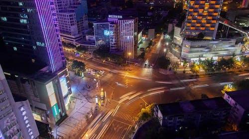 Capital of Southwestern Sichuan Province Chengdu Timelapse