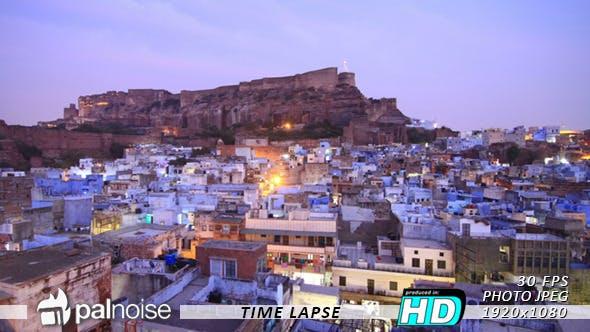 Thumbnail for Jodphur, Blue City, India