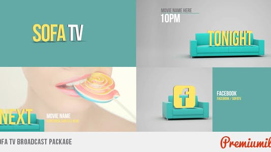Thumbnail for Sofa TV Broadcast Package