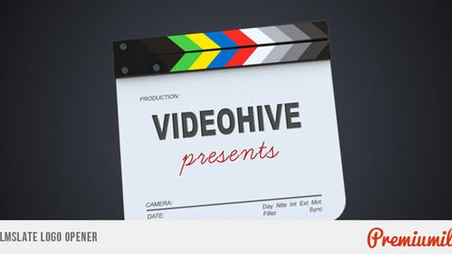 Filmslate Logo Opener