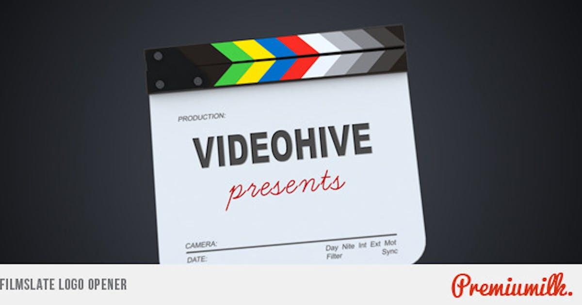 Download Filmslate Logo Opener by Premiumilk