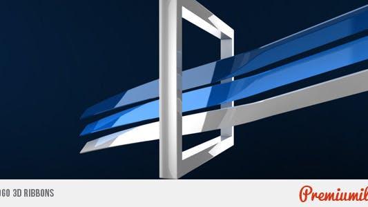 Thumbnail for Logo 3D Ribbons