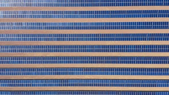 Thumbnail for Topdown View Over the Rows Pattern Made of Blue Solar Batteries Used To Provide with Eco Friendly
