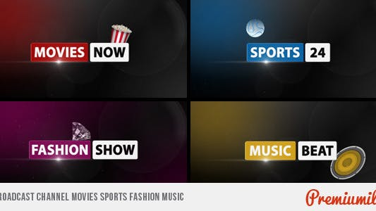 Thumbnail for Broadcast Channel Movies Sports Fashion Music