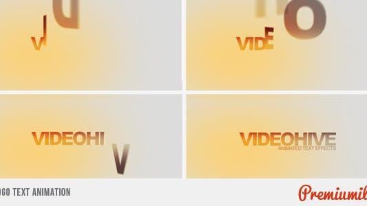 Thumbnail for Logo Text Animation