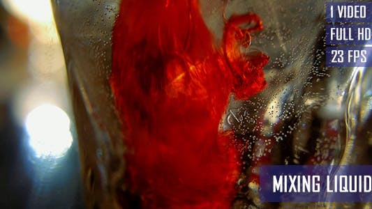 Cover Image for Mixing Liquids In The Drink