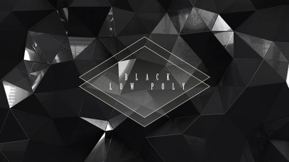 Thumbnail for Black Low Poly With Glass