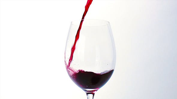 Thumbnail for Red Wine Poured into Glass