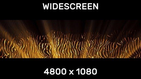 Gold Widescreen