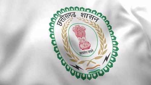 Chhattisgarh Flag (India) - 4K