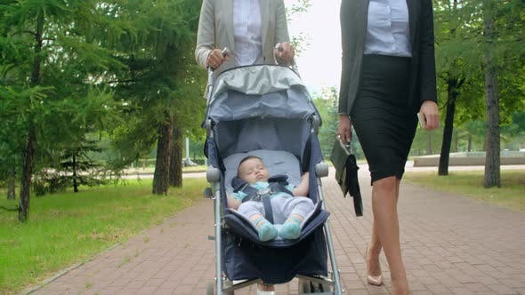 Thumbnail for Business Talk at Maternity Leave