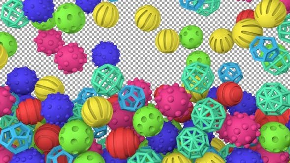 Rubber Toy Balls Transition Ver2