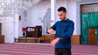 Mosque Worship Young Boys