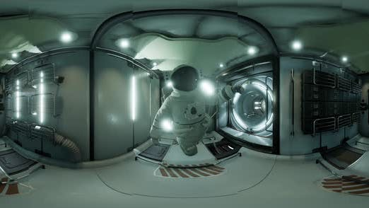 Thumbnail for VR360 Interior of Space Station