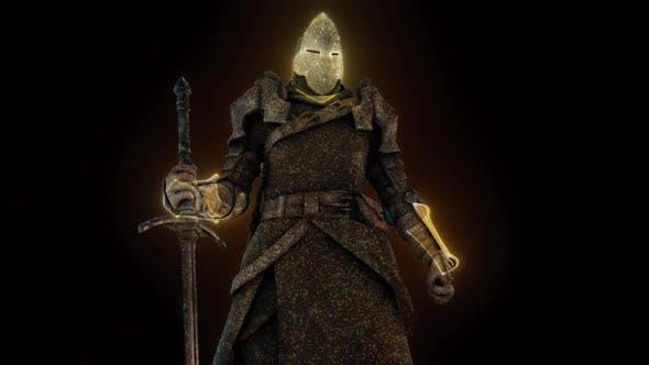 Medieval Knight 4k