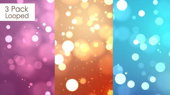 Thumbnail for Glittering Background ( 3 Pack)