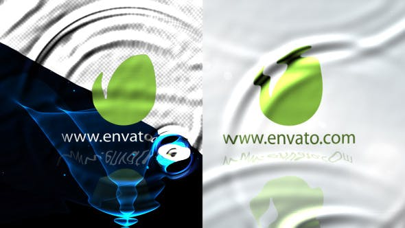 Cover Image for Elegance Water Ripple Logo