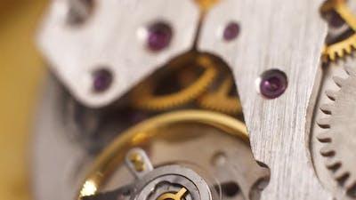 Mechanical Watch Close-Up