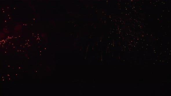 Festive Bright Fireworks
