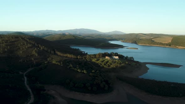 Thumbnail for Portuguese Countryside Nature Aerial View