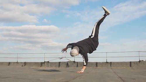 Hip Hop Dancing Outdoors