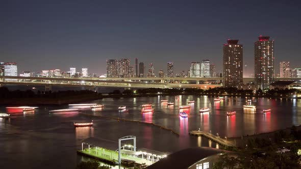Thumbnail for Night Time-Lapse Tokyo Japan