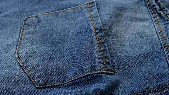 Thumbnail for Blue denim close up
