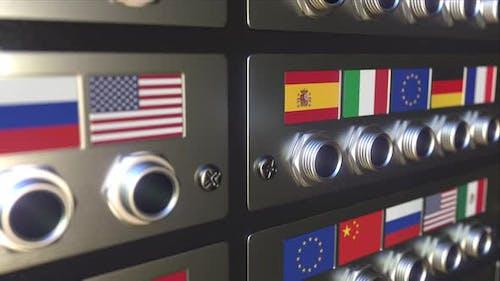 Jack Plug with Flag of the European Union