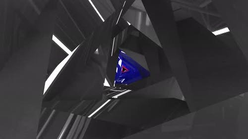 Triangular Tunnel with Different Shapes