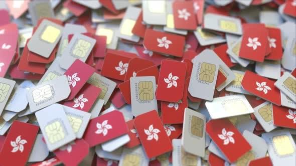 Thumbnail for SIM-Karten mit Flagge von Hongkong