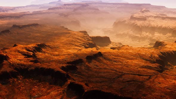 Thumbnail for Scenic View of Sunrise in Grand Canyon National Park