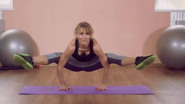 Thumbnail for Instructor in Yoga Studio