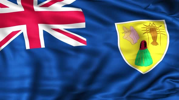 Thumbnail for Turks and Caicos Islands Flag