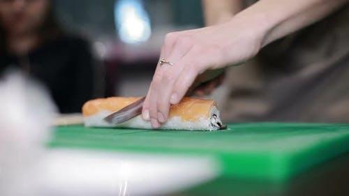 Sushi Roll Process