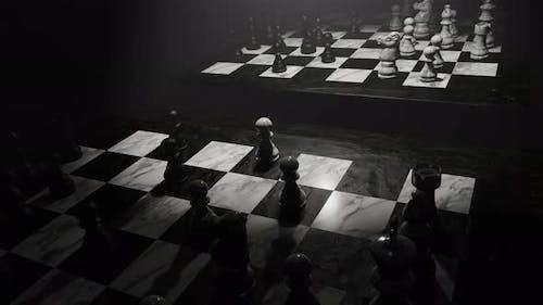Enjoy In Chess Board 06 4K