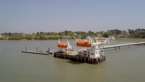 Maritime and Offshore Safety Lifeboat Training Jetty