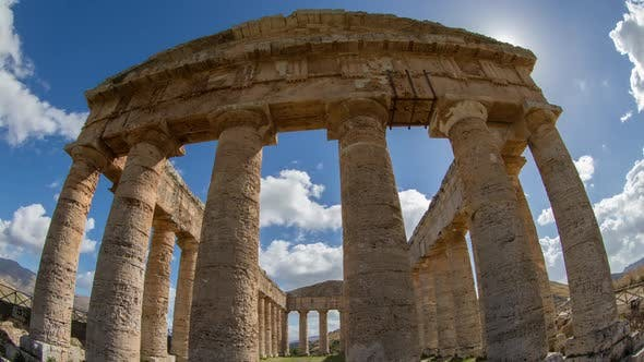 Thumbnail for Segesta greek ruins empire sicily temple italy