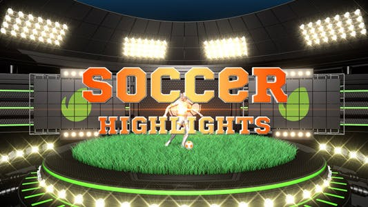 Thumbnail for Soccer Highlights Ident Broadcast Pack