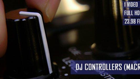 Thumbnail for DJ Adjusting Mixer Controllers At Nightclub