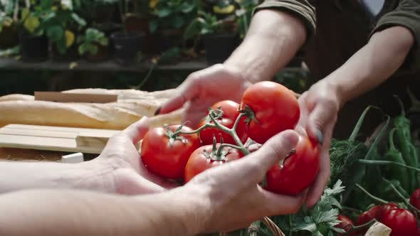 Thumbnail for Woman Selling Fresh Vegetables