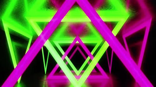 Triangle Colorful Light Hd