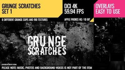 Grunge Scratches (4K Set 1)