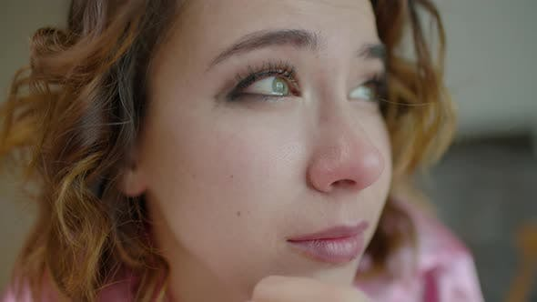 Thumbnail for Crying Woman Bedroom