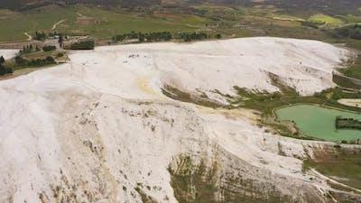 Landscape of Pamukkale