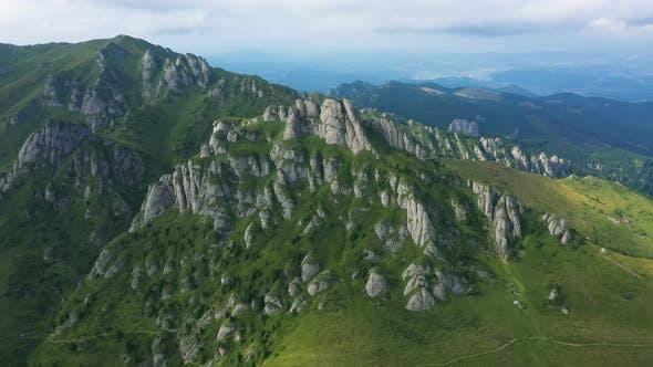 Ciucas Mountains Panorama