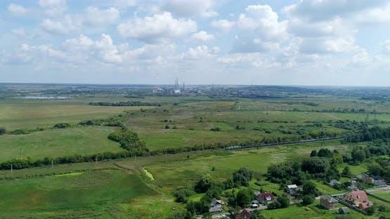 Chemical industry, plant in Rivne region