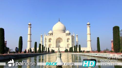 Taj Mahal India (3-Pack)